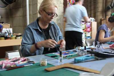 Glass Fusing Workshop  (c) Stained Glass Museum
