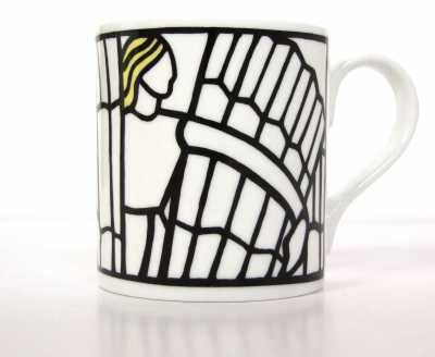 Mug front  (c) Stained Glass Museum