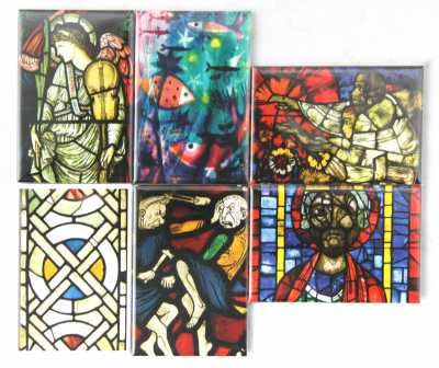 Magnets  (c) Stained Glass Museum
