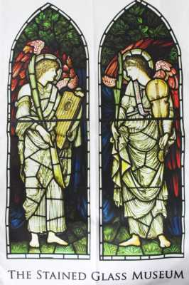 Burne-Jones Tea Towel  (c) Stained Glass Museum
